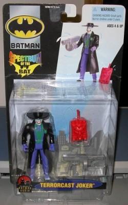 Hasbro Terrorcast Joker Batman Spectrum Of The Bat 2000