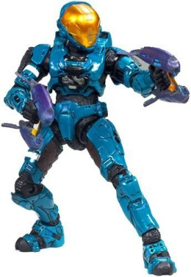 McFarlane Toys Halo 3 Series 6 Medal Edition Exclusive Teal Spartan