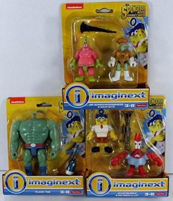 Fisher-Price Imaginext Nickelodeon Spongebob Squarepants Movie Set