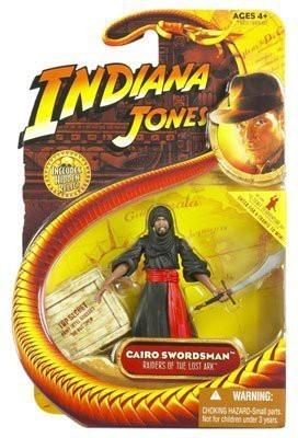 Hasbro Indiana Jones Action Figure: Cairo Swordsman