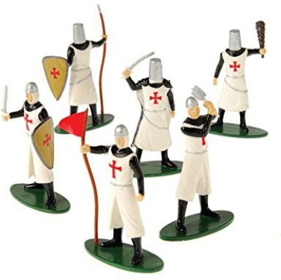 US Toy 12 Deluxe Knight Medieval Crusader Play