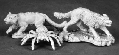Reaper Animal Companions 2 Wolf Cat Spider Dark Heaven Legends