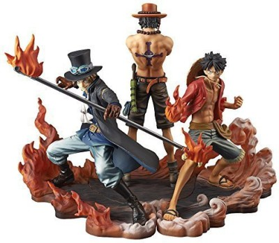 Banpresto One Piece Dxf Brotherhood Ii Set Of 3