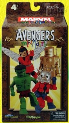 Diamond Select Toys Marvel Minimates Avengers No.1 Box Set