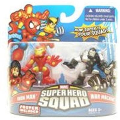 Marvel Superhero Squad Series 16 Iron Man & War Machine 2Pack