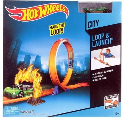 Hot Wheels CITY LOOP AND LAUNCH - BCT35-1