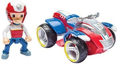 Paw Patrol Nickelodeon, Ryder's Rescue ATV, Vehicle and Figure