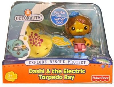 Fisher Price Octonauts Dashi & the Electric Torpedo Ray