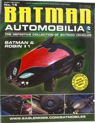 Eaglemoss Dc Batman Automobilia Magazine 15 Batmobile