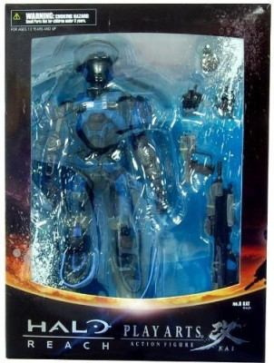 Halo Reach Square Enix Play Arts Kai Series 2 Lieutenant Commander Kat