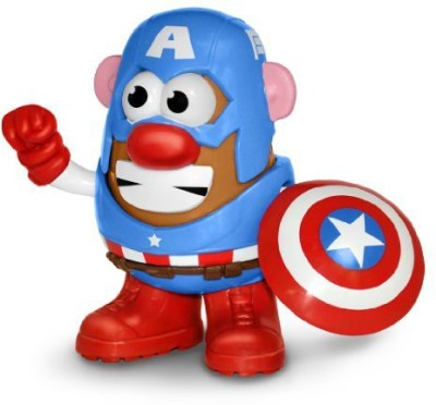 Mr Potato Head Captain America