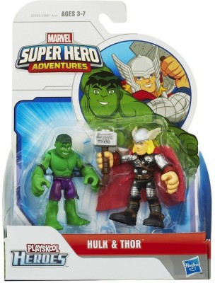 Marvel Super Hero Adventures Hulk and Thor