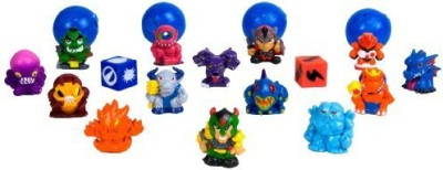 Squinkies Blip Boys Bubble Series 4 Monsters (16 Piece)