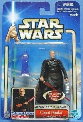 Star Wars Attack of the Clones - Count Dooku