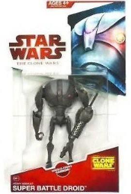 Star Wars Clone Wars 2009 Wave 9 Heavy Assault Super Battle Droid Action Figure