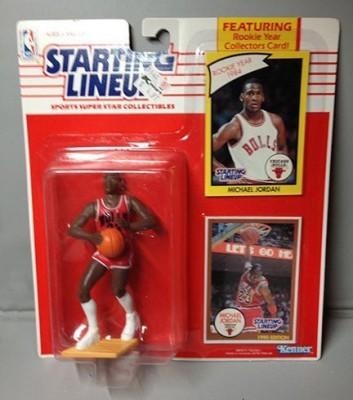 Kenner 1990 Michael Jordan Starting Lineups 1989