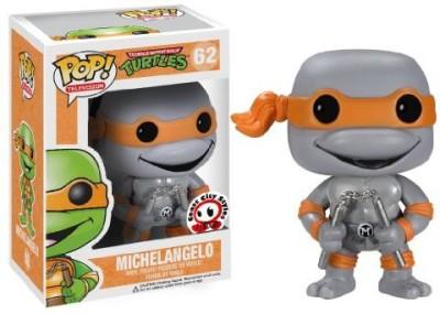 Teenage Mutant Ninja Turtles Slcc 2013 Exclusive Tmnt Michelangelo Grayscale Chrome Pop