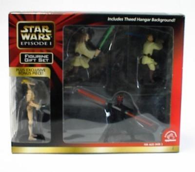 NFL Star Wars Episode 1 Pvc Figurine Set With Bonus