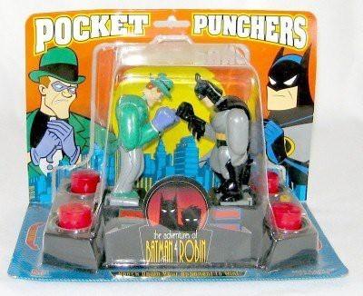 Milton Bradley The Adventures Of Batman & Robin Pocket Punchers Batman