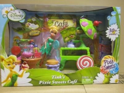 Jakks Pacific Disney Fairies Tink,S Pixie Sweets Cafe