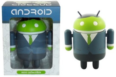 Android Big Box Edition Mini Collectible Figure, Business Man(Multicolor)