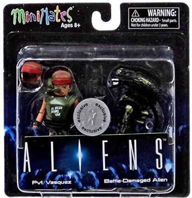 Alien S Minimates Series 1 Pvt Vasquez & Battledamaged