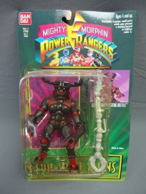 Power Rangers Mighty Morphin Evil Space Aliens Slicing Horns Stag Beetle