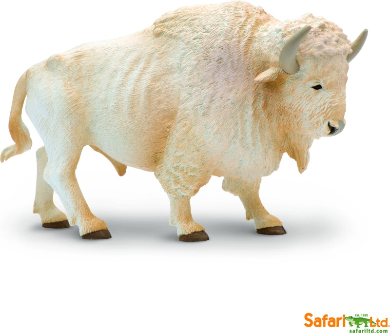 Safari Ltd White Buffalo(Multicolor)