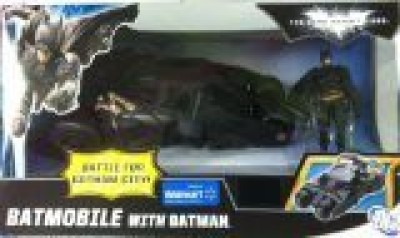 Jamn Products Batman Dark Knight Rises Exclusive Vehicle Batmobile with Batman
