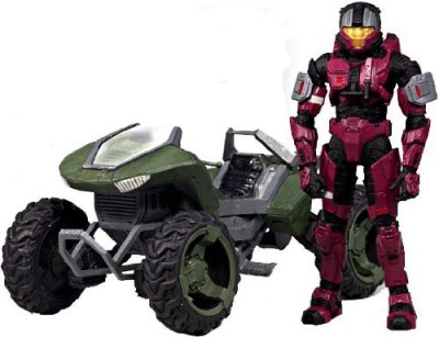 McFarlane Toys Halo 2009 Exclusive Deluxe Vehicle With Boxed Set Mongoose