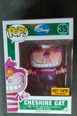 Funko Pop Disney 35 Cheshire Cat Hot Topic Exclusive (Transition)