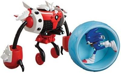Tomy Sonic Boom Sonic Vs Burnbot Playset