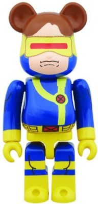 Medicom Marvel Cyclops 100Percent Bearbrick