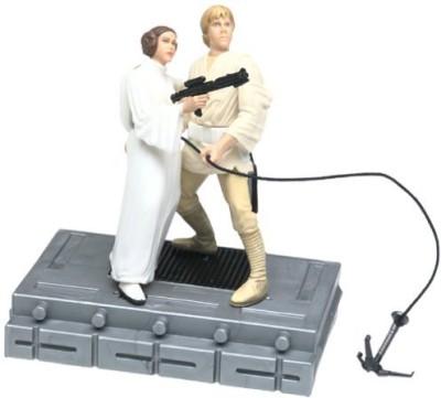 Star Wars Luke Skywalker & Princess Leia Organa Swing To Freedom