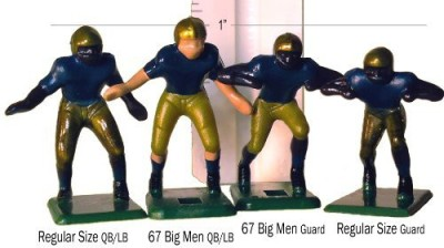 Tudor Games Electric Football 67 Big Men 11 In Red Yellow White Home