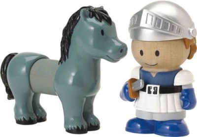 Learning Curve Play Town Knight & Horse 2Pack
