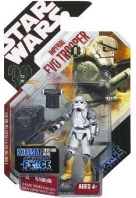 Hasbro Star Wars Basic Figure Force Unleashed Imperial Evo Trooper (Heavy Stormtrooper)