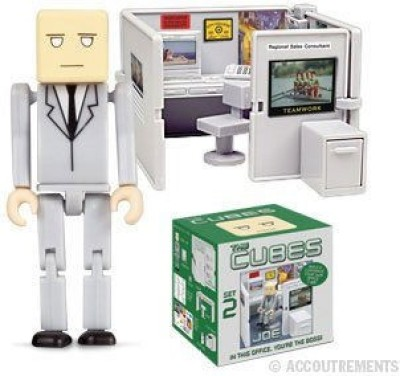 Accoutrements The Cubes 2: Joe Mini-Figure Playset
