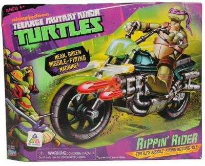 Teenage Mutant Ninja Turtles Basic Vehicle - Rippin, Rider