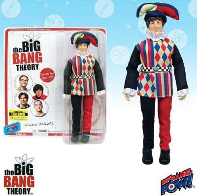 Bif Bang Pow! The Big Bang Theory Howard Jester 8Inch Con Excl