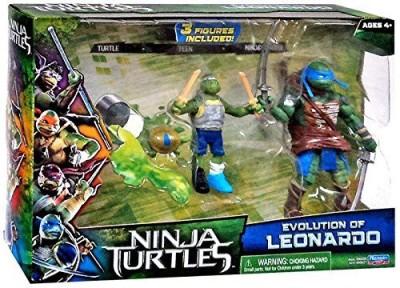 Ninja Turtles Teenage Mutant Tmnt 2014 Movie 2Pack Evolution Of Leonardo