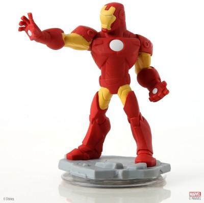 Disney Interactive Studios Marvel Super Heroes (2.0 Edition) Iron Man Figure - No Retail Packaging