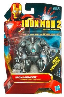 Iron Man 2 Movie 4 Inch Action Figure Iron Monger