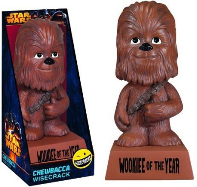 Star Wars Chewbacca Wookiee Of The Year Funko Wisecracks Bobblehead