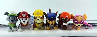 Paw Patrol Nickelodeon Pup Buddies Set Of 6