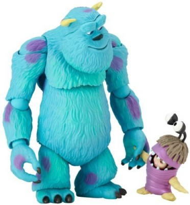 Monsters, Inc Revoltech Sully & Boo