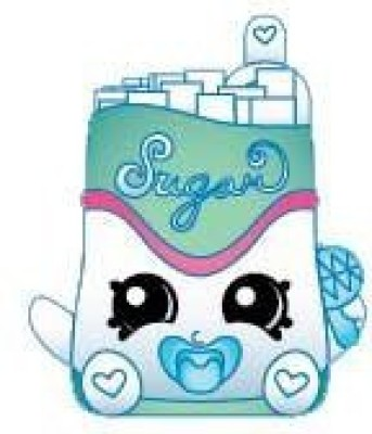 Shopkins 2014 Sugar Lump 028 Season 1 Ultra Rare