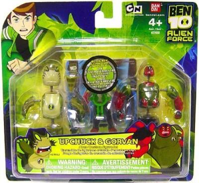 Bandai Ben 10 Alien Creation Chamber Mini 2Pack Upchuck And Gorvan