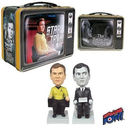 Bif Bang Pow! Star Trek / Twilight Zone Capt & Passenger Con Exclusive