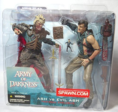 Unknown Spawn Army Of Darkness Ash Vs Evil Ash Two Pack Exclusive